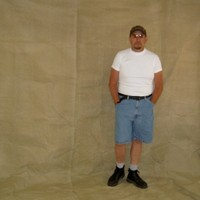 Masculine submissive man's photo