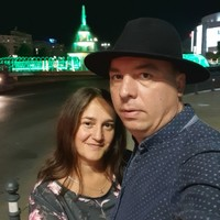 Couple looking for girl's photo