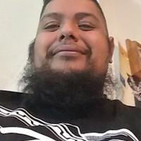 Fat boy's photo