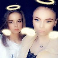Julia and Chloe's photo