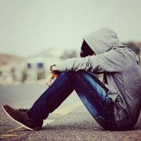 alone boys's photo